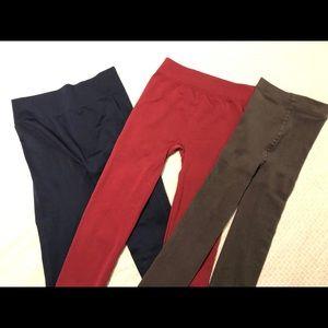 Pants - Never worn! 3 for $12 leggings!